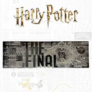 Harry Potter Silver Plated Limited Edition Quidditch World Cup Ticket