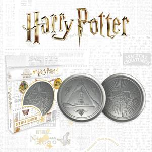 Harry Potter Metal Drinks Coasters