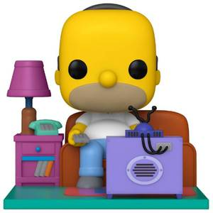 Funko Pop! Deluxe: Simpsons - Homer che guarda la TV