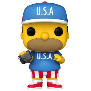 Simpsons USA Homer Funko Pop! Vinyl