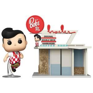Bob's Big Boy Restaurant with Big Boy Funko Pop! Town