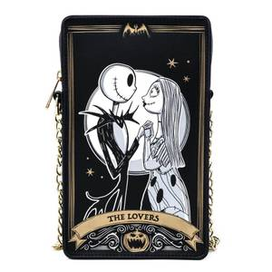 Loungefly Disney The Nightmare Before Christmas Tarot Card Passport Bag