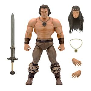 Super7 Conan ULTIMATES! Figure - Conan the Barbarian (Iconic Movie Pose)