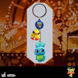 Hot Toys Cosbaby Toy Story 4 Porte-clés Ducky et Bunny