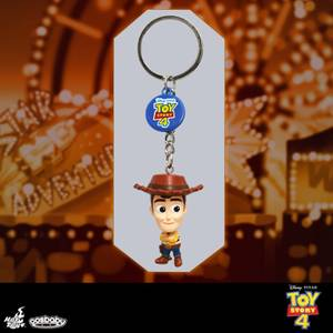 Hot Toys Cosbaby Toy Story 4 Woody Keychain