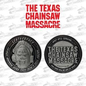 Texas Chainsaw Massacre Münze in limitierter Auflage