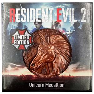Resident Evil Limited Edition Unicorn Medallion
