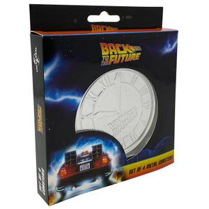 Back to the Future Drinks Coasters