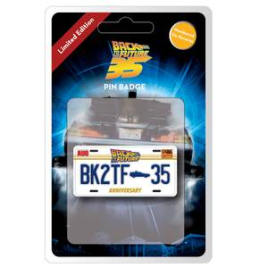 Back to the Future Limited Edition 35th Anniversary Pin Badge