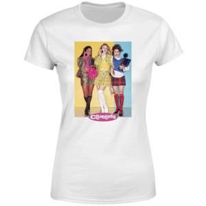 Clueless Cast Damen T-Shirt - Weiß