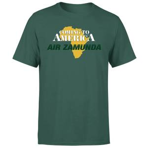 T-shirt Coming to America Air Zamunda - Vert - Homme