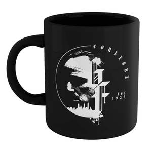 The Godfather Corleone Est 1925 Tasse - Schwarz