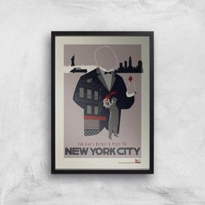 The Godfather Visit New York Giclee Art Print