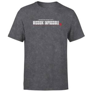 T-shirt Mission Impossible Tie Dye - Noir - Unisexe