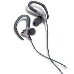 Mixx Cardio Sports Earphones with Mic Remote - Grey