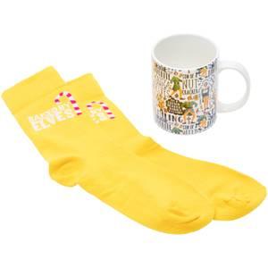 Elf Mug & Socks Set