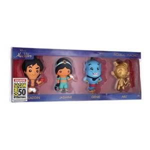 Disney Aladdin 3D Figural Magnet 4-Pack - SDCC 2019 Exclusive