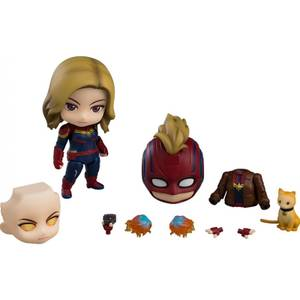 Captain Marvel Hero's Edition DX Nendoroid Action Figure