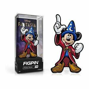 Disney Fantasia Mickey Mouse FiGPiN Enamel Pin