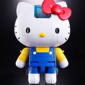 Hello Kitty Chogokin Die-Cast Metal Action Figure