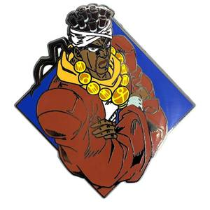 Jojo's Bizarre Adventure Diamond Avdol Enamel Pin