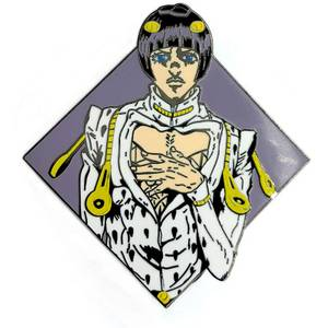 Jojo's Bizarre Adventure Diamond Bruno Bucciarati Enamel Pin