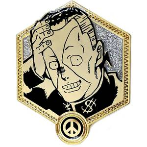 Jojo's Bizarre Adventure Golden Okuyasu Enamel Pin