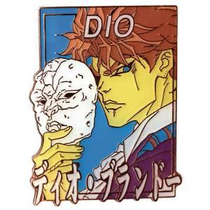 Jojo's Bizarre Adventure Pastel Dio Brando Enamel Pin