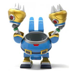Mega Man X Rabbit Ride Nendoroid More Action Figure