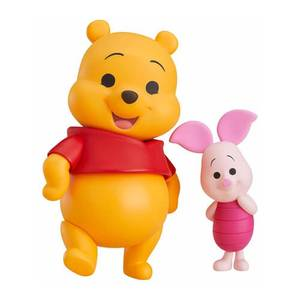 Disney Winnie the Pooh and Piglet Nendoroid Action Figure Set