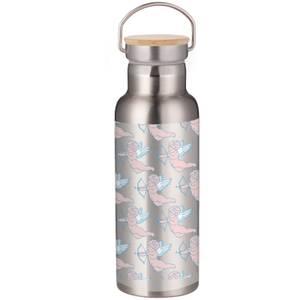 Demi Donnelly Cherubs Portable Insulated Water Bottle - Steel
