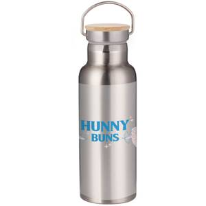 Demi Donnelly Hunny Buns Portable Insulated Water Bottle - Steel