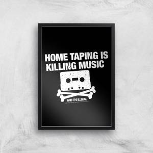 Home Taping Is Killing Music Giclee Art Print