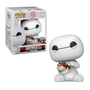 Figurine Pop! Baymax & Mochi 6 Pouces (15cm) EXC - Disney Big Hero 6: Les Nouveaux Héros