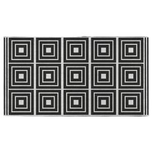 Hand Towels Layered Squares Pattern Hand Towel