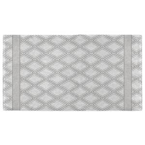 Hand Towels Geometric Diamond Pattern Hand Towel