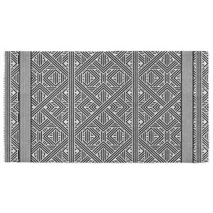 Hand Towels Diamond And Squares Pattern Hand Towel