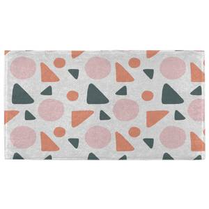 Hand Towels Circle And Triangle Pattern Hand Towel