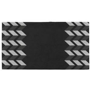 Hand Towels Geometric Zig Zag Border Hand Towel