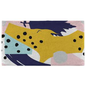 Hand Towels Abstract Autumn Pattern Hand Towel