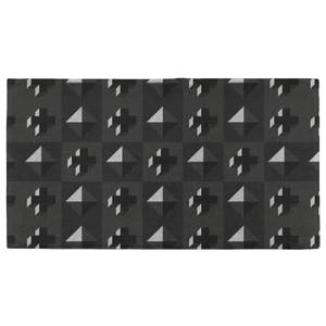Hand Towels 3D Diamond And Cross Pattern Hand Towel