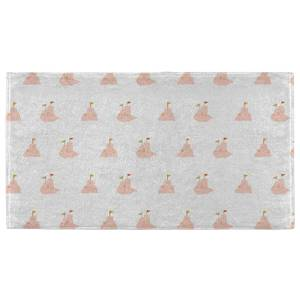 Hand Towels Sandcastle Pattern Hand Towel