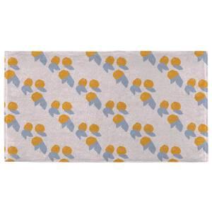 Hand Towels Orange Pattern Hand Towel