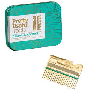 Pretty Useful Tools Credit Card Multi-Tool - Gold