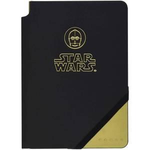 Cross Star Wars C3PO Medium A5 Lined Journal