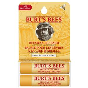 Coffret Duo baume à lèvres 100% naturel Burt's Bees à la cire d'abeille