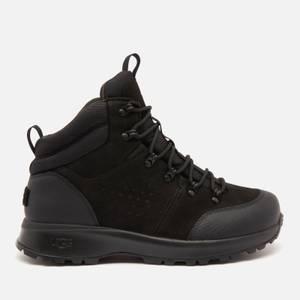 UGG Men's Emmett Waterproof Leather Hiking Style Boots - Black