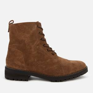 Superdry Women's Commando Lace Up Boots - Brown