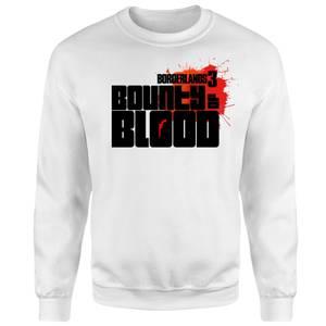 Felpa Borderlands 3 Bounty Of Blood Logo - Bianco