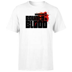 Borderlands 3 Bounty Of Blood Logo Men's T-Shirt - White